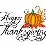 Happy Thanksgiving from the Coming of Age Staff